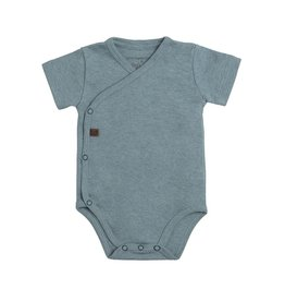 Baby's Only Rompertje Melange stonegreen