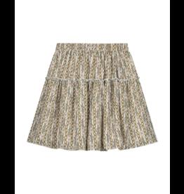 Nik & Nik Tory Chain Skirt Vintage White