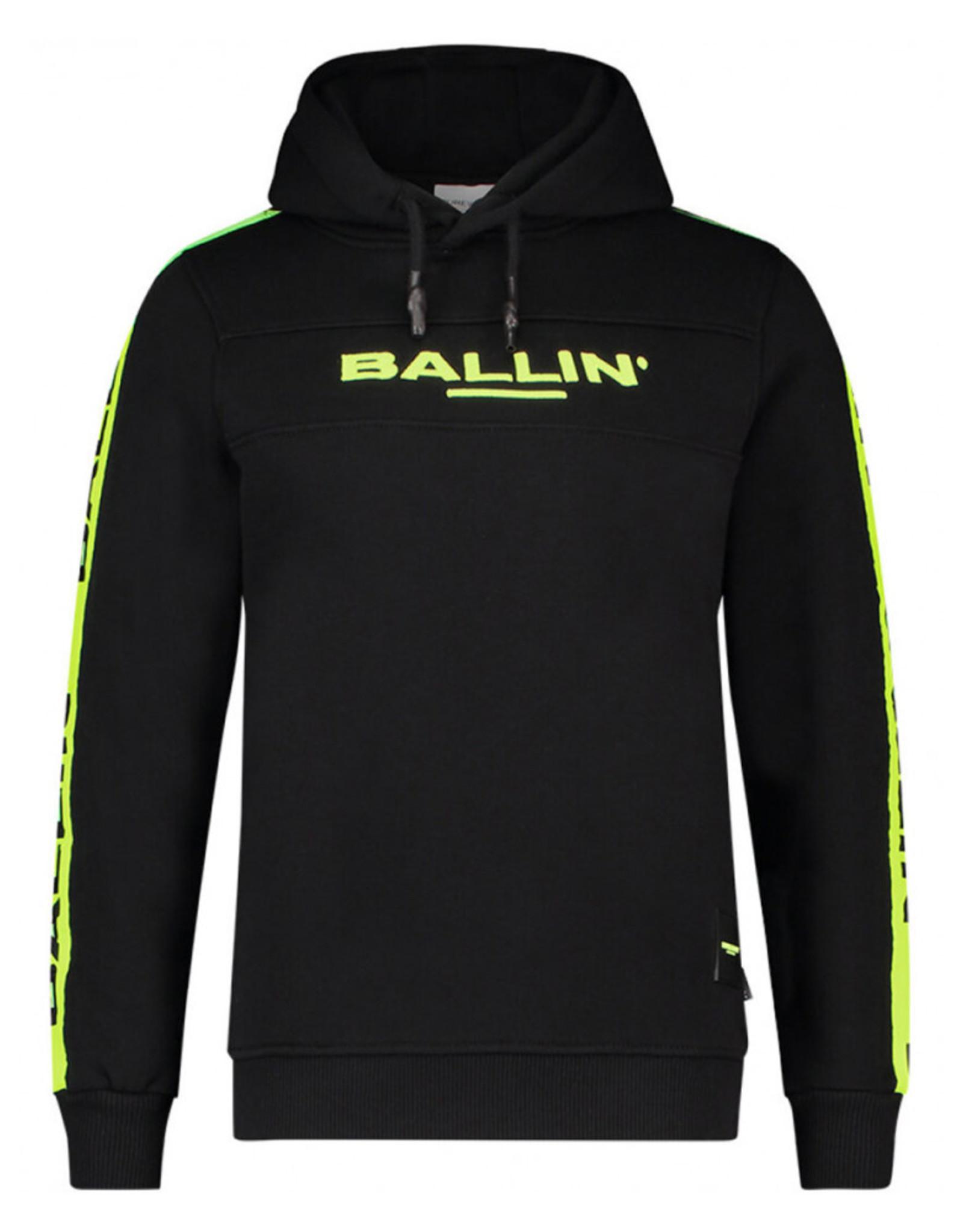 Ballin Amsterdam Hoodie Neon Logo Tape Embroidery Edition
