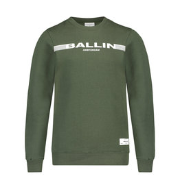 Ballin Amsterdam Sweater Dark Army