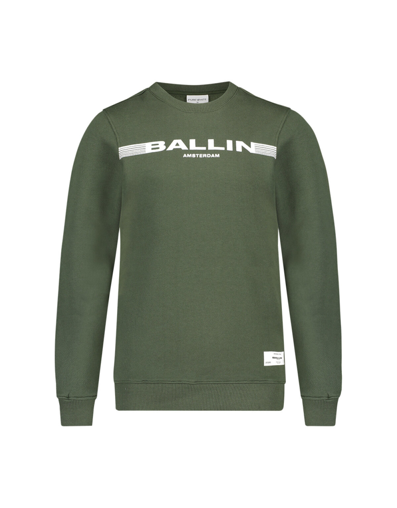 Ballin Amsterdam Sweater Dark Army