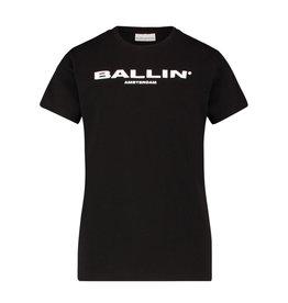 Ballin Amsterdam Kids T-shirt Orginal Logo Zwart