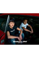 Ballin Amsterdam Kids T-shirt Orginal Logo Navy