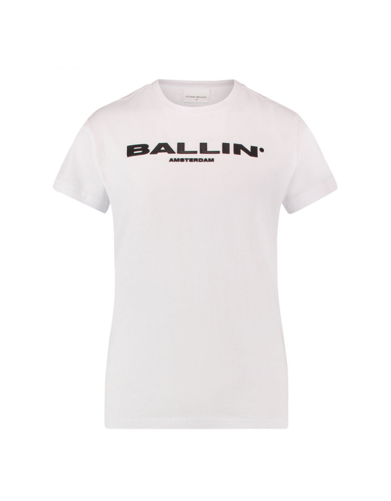 Ballin Amsterdam Kids T-shirt Orginal Logo White