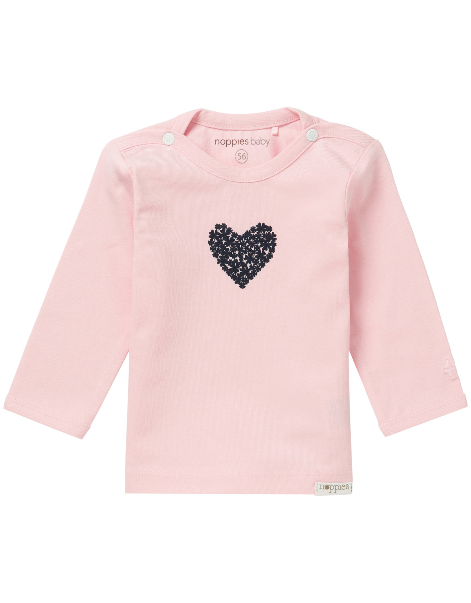 Noppies Meisjes Longsleeve Natick Light Rose