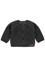 Noppies Unisex Vest Dani Dark Grey Melange