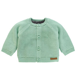 Noppies Unisex Vest Lou Grey Mint