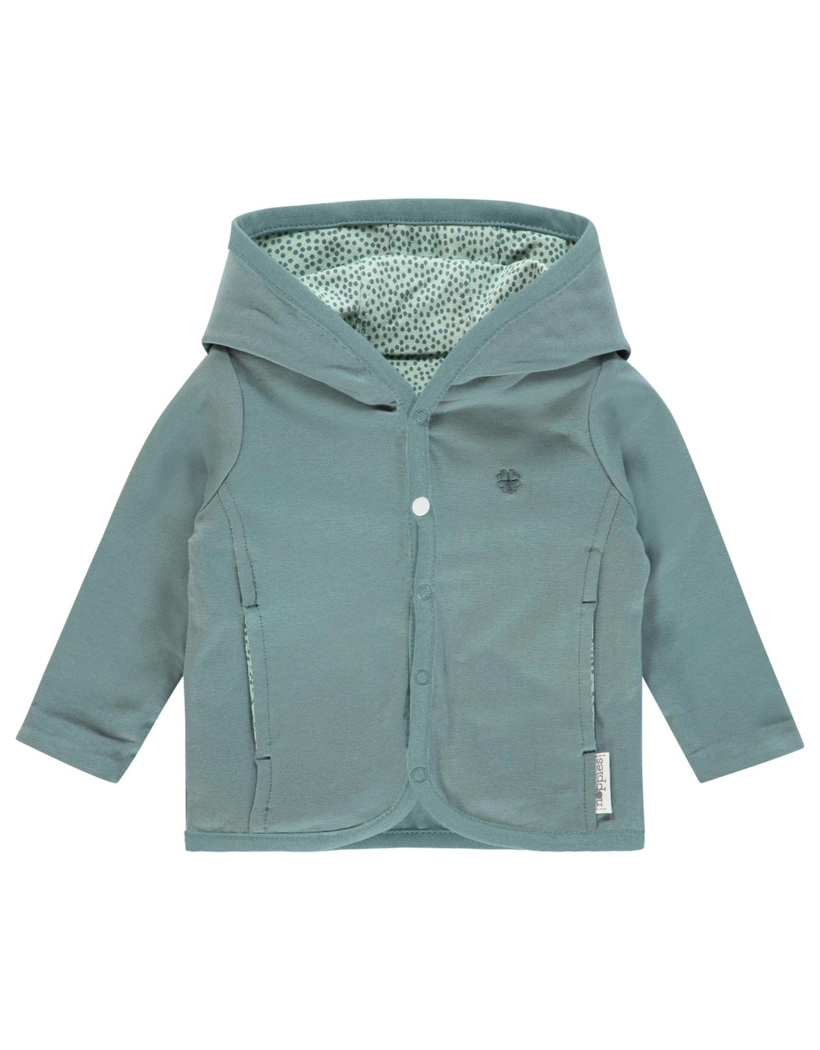 Noppies Unisex Vest Haye Grey Mint