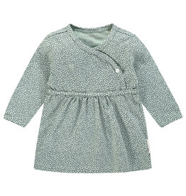 Noppies Meisjes Jurk Mattie Grey Mint