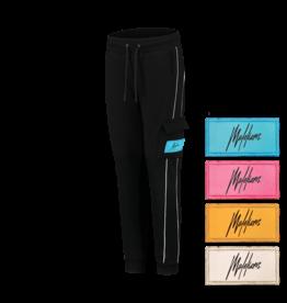 Malelions Junior Velcro Trackpants Black