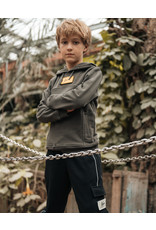 Malelions Junior Velcro Trackpants Black