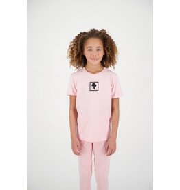 Reinders Headlogo Square T-Shirt Short Sleeve Baby Pink