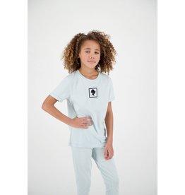 Reinders Headlogo Square T-Shirt Short Sleeve Baby Blue