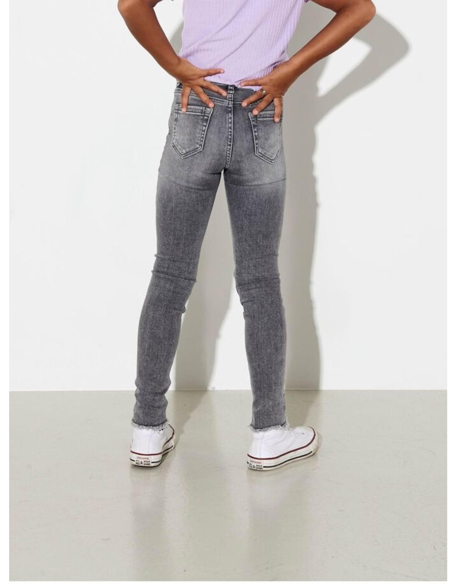 Kids Only Blush Skinny Jeans Grijs