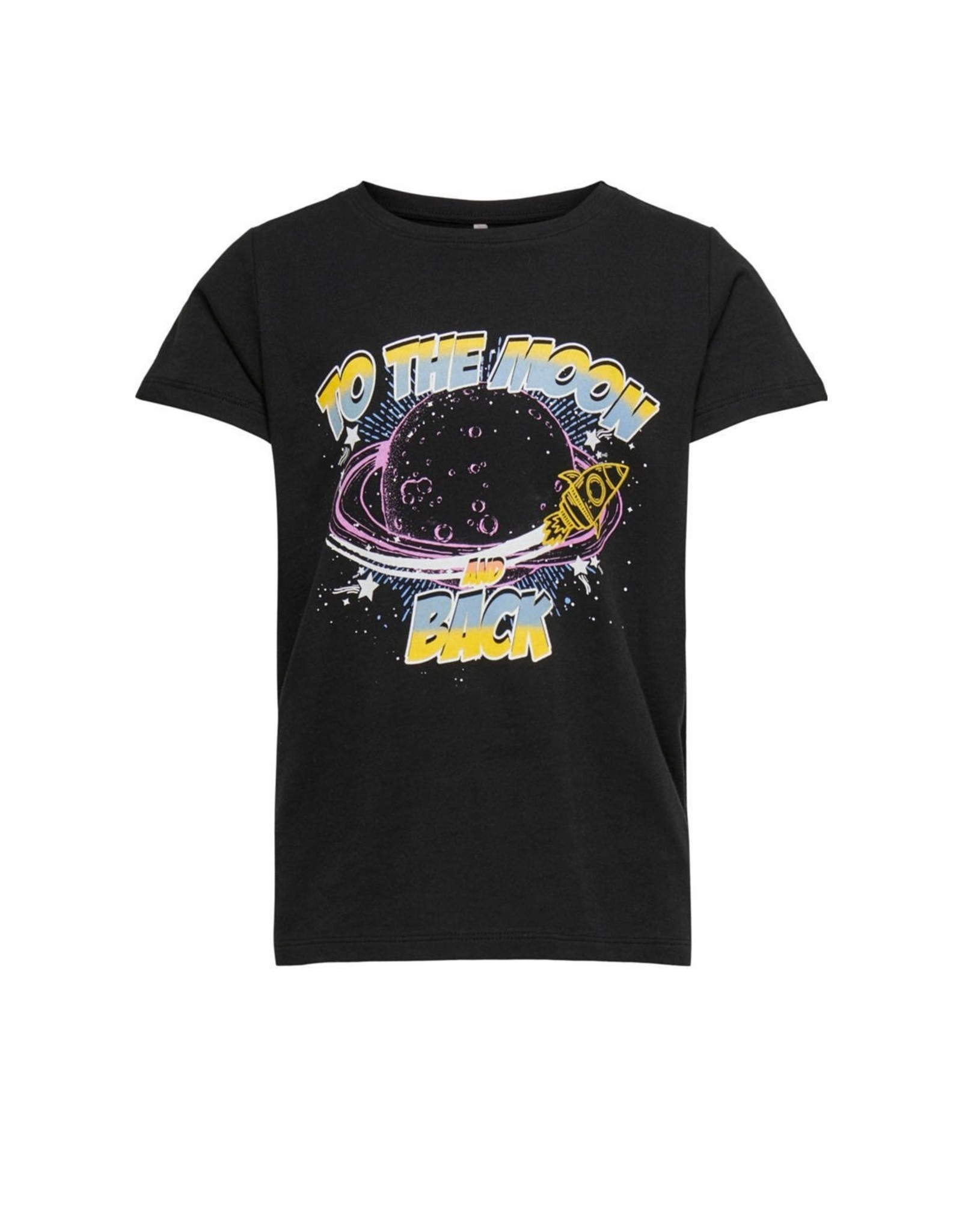 Kids Only T-shirt Else To The Moon Black