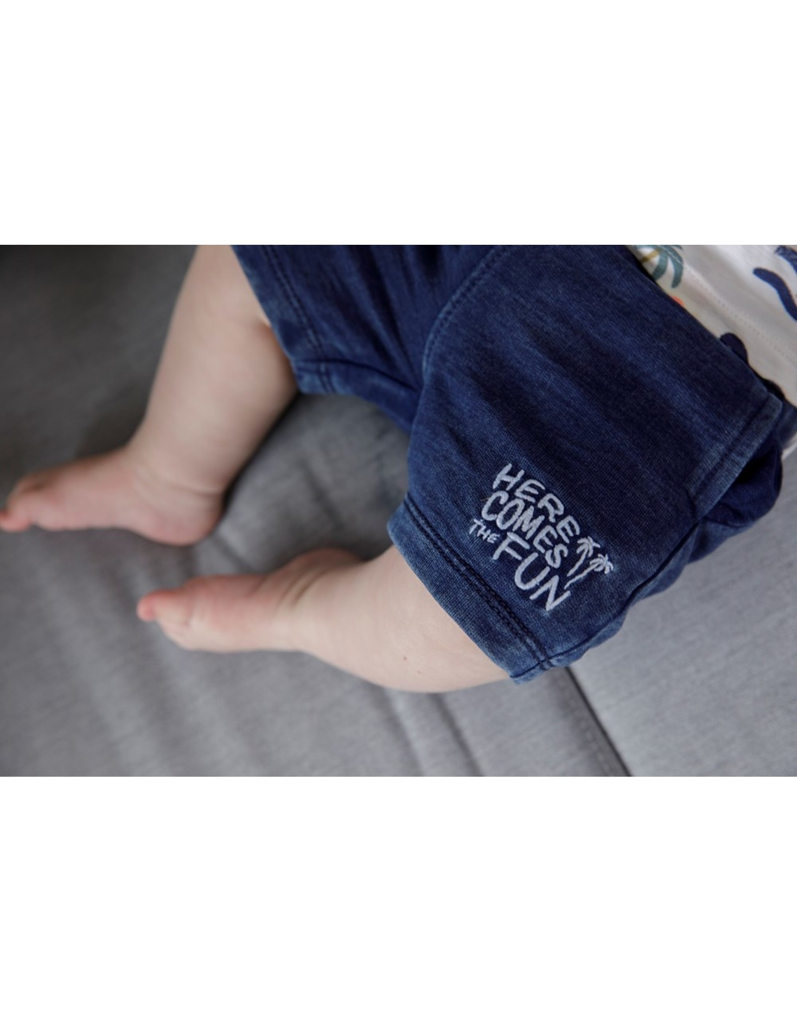 Feetje Short - Here Comes The Fun Indigo
