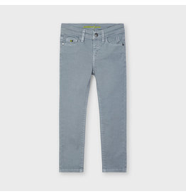 Mayoral twill skinny pants  dolphin