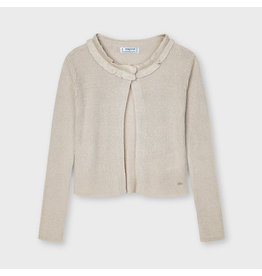 Mayoral Knitted cardigan Beige Lure
