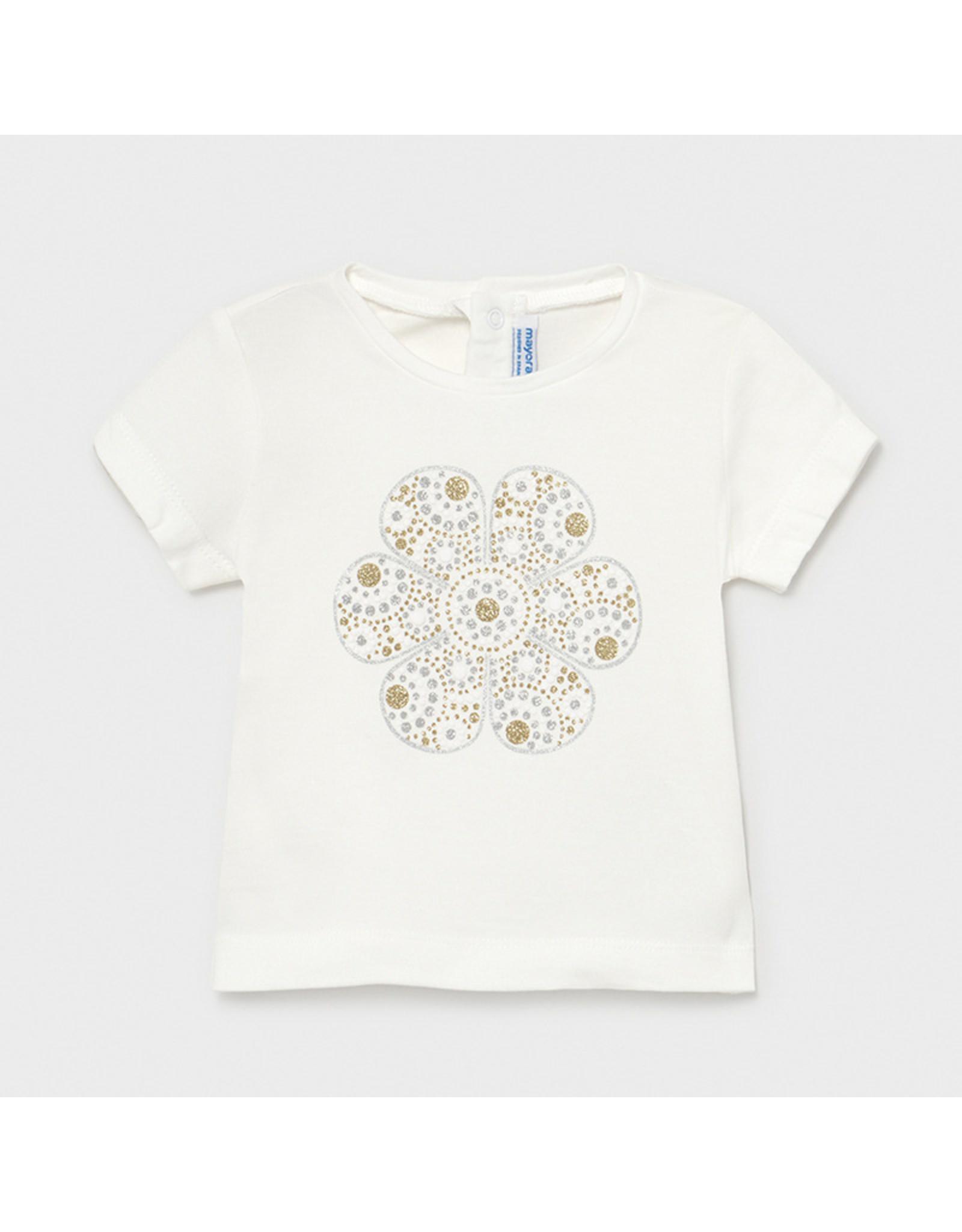Mayoral Basic s/s t-shirt  Natural