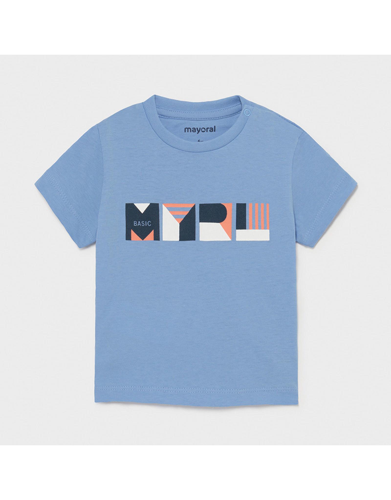 Mayoral Basic s/s t-shirt  Lavender