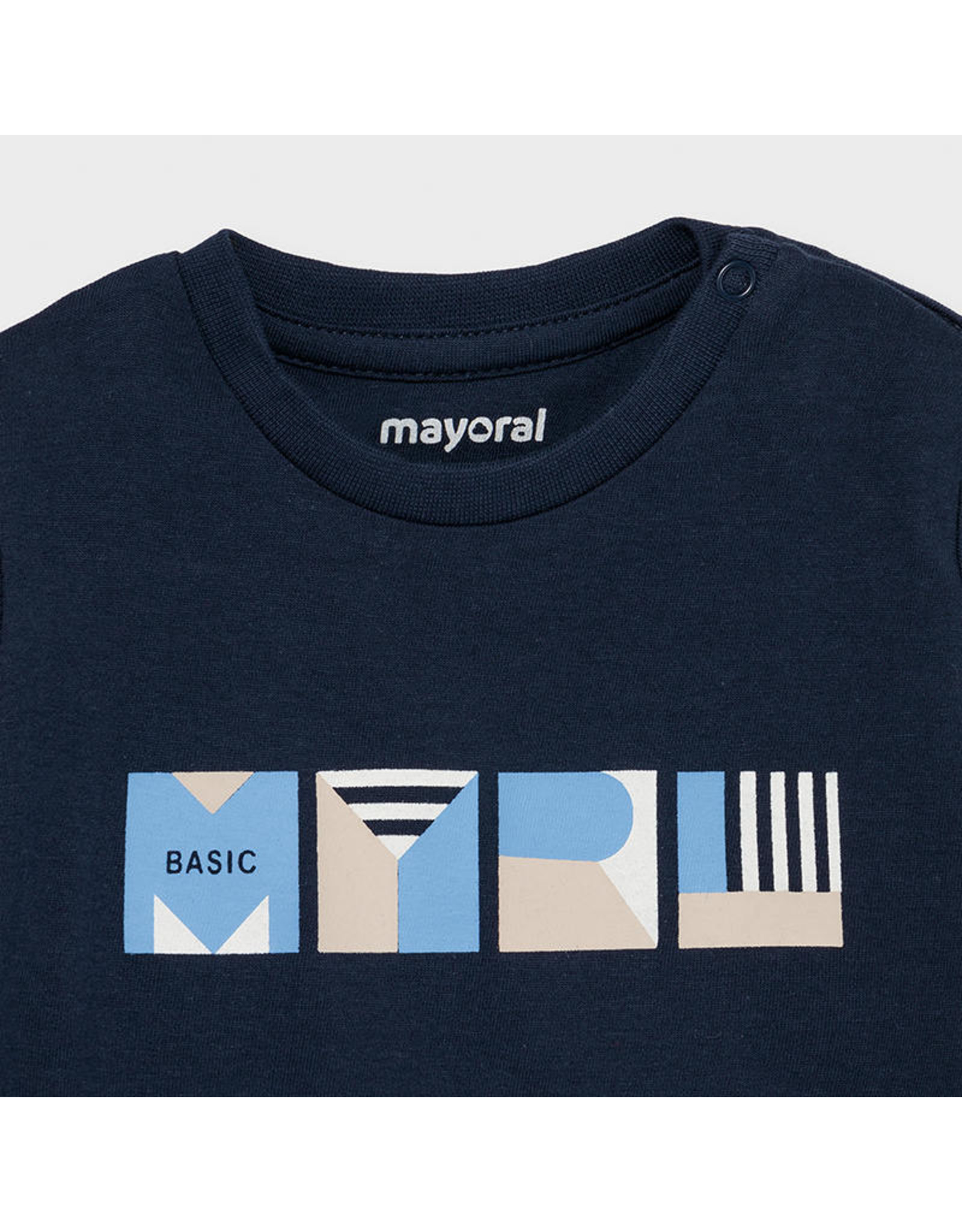 Mayoral Basic s/s t-shirt  Nautical