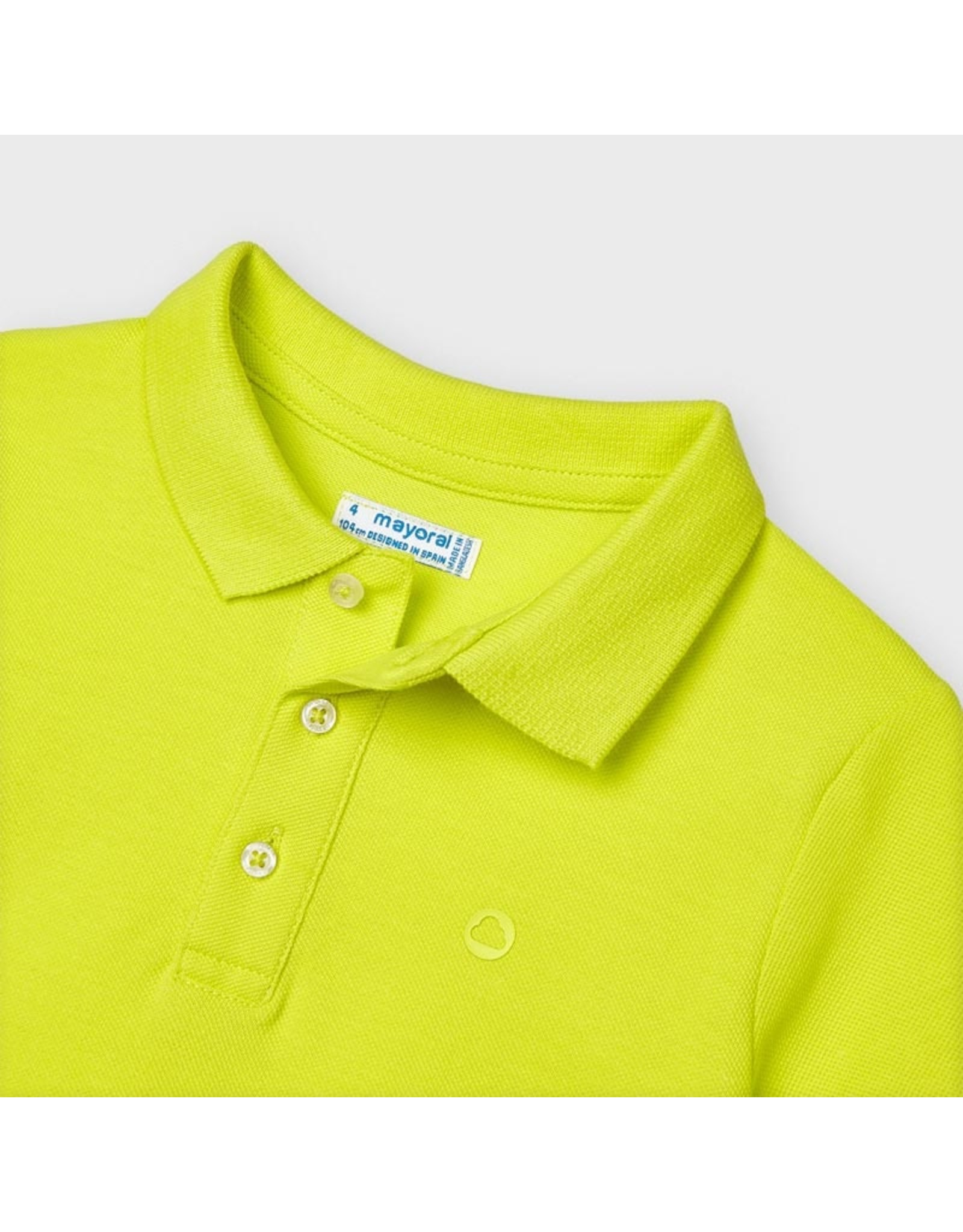 Mayoral Basic s/s polo green