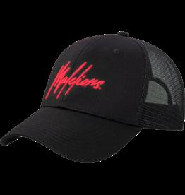 Malelions Junior Cap Signature Black - Red