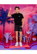Malelions Junior Swimshort Francisco Black - Glow