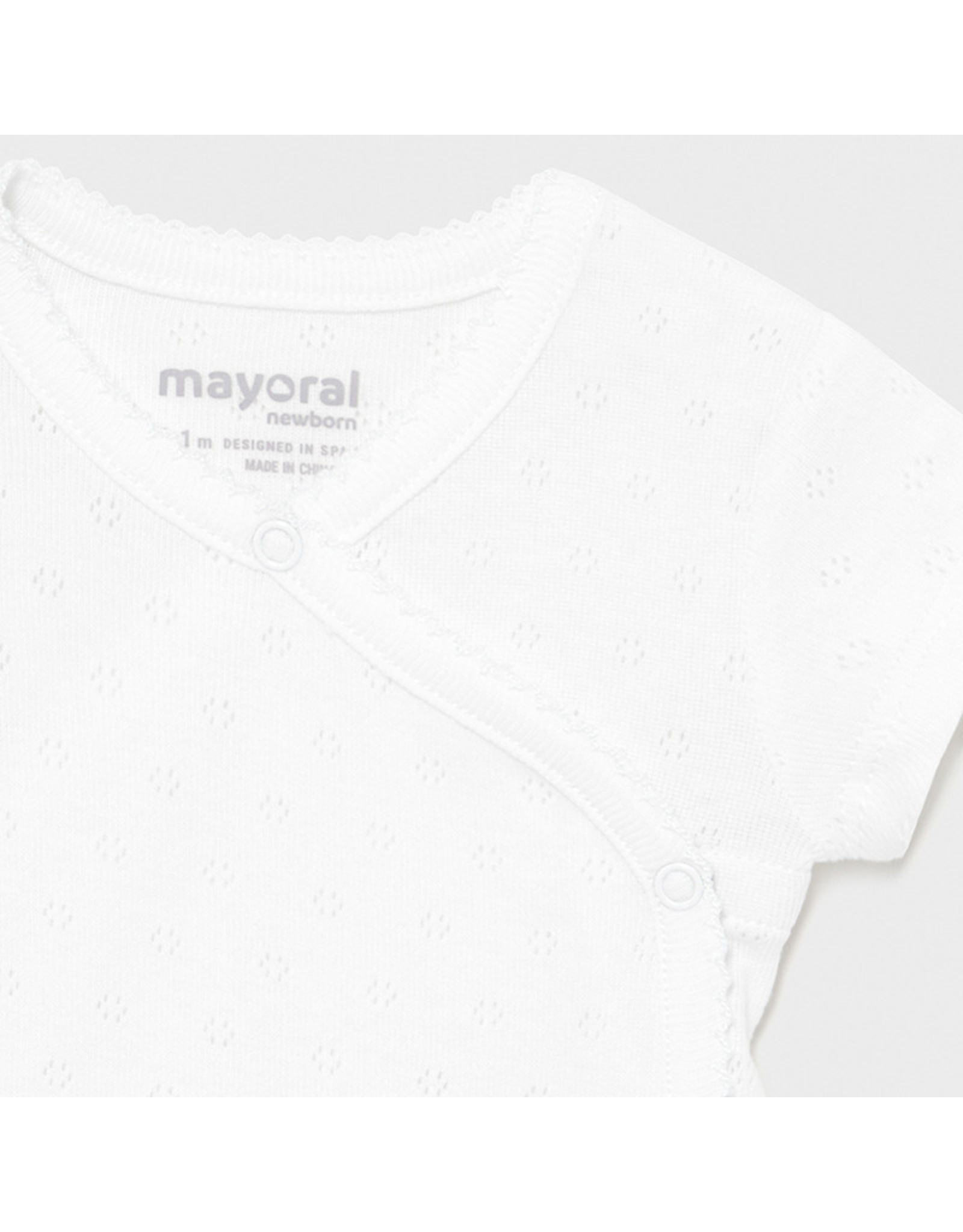 Mayoral S/s basic body White