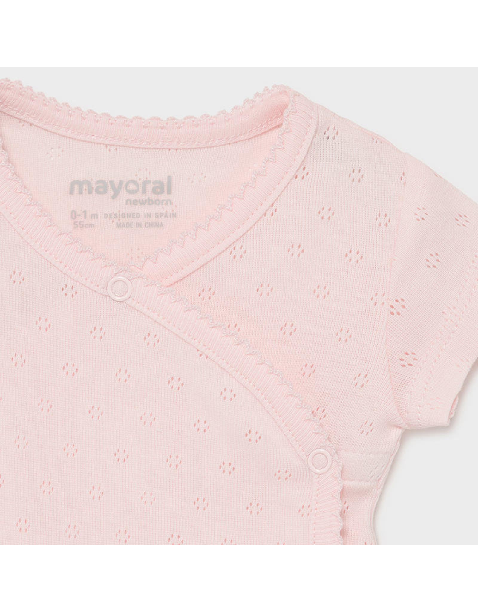 Mayoral S/s basic body Baby Rose