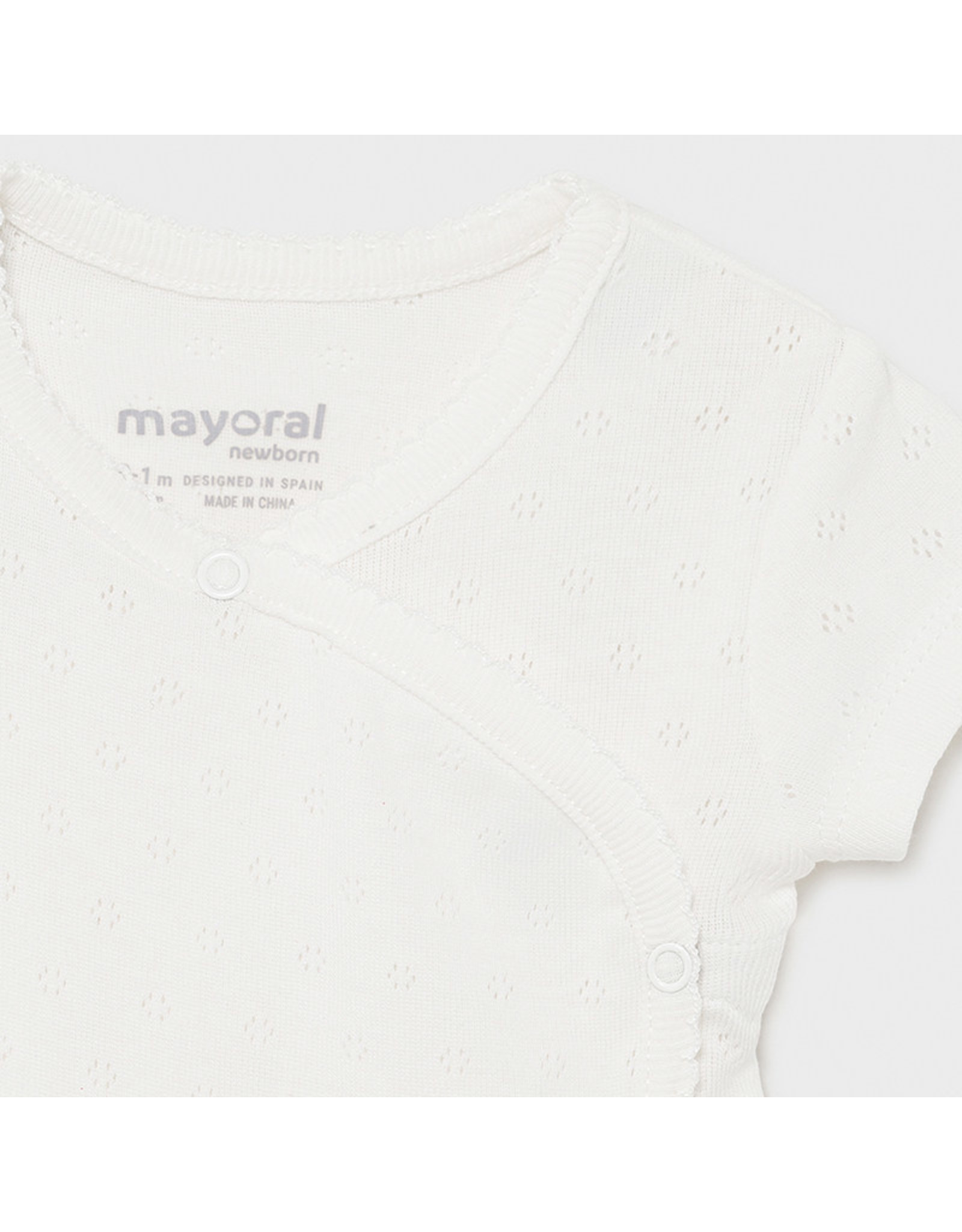 Mayoral S/s basic body Natural