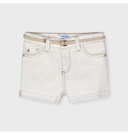 Mayoral Basic twill shorts  Natural