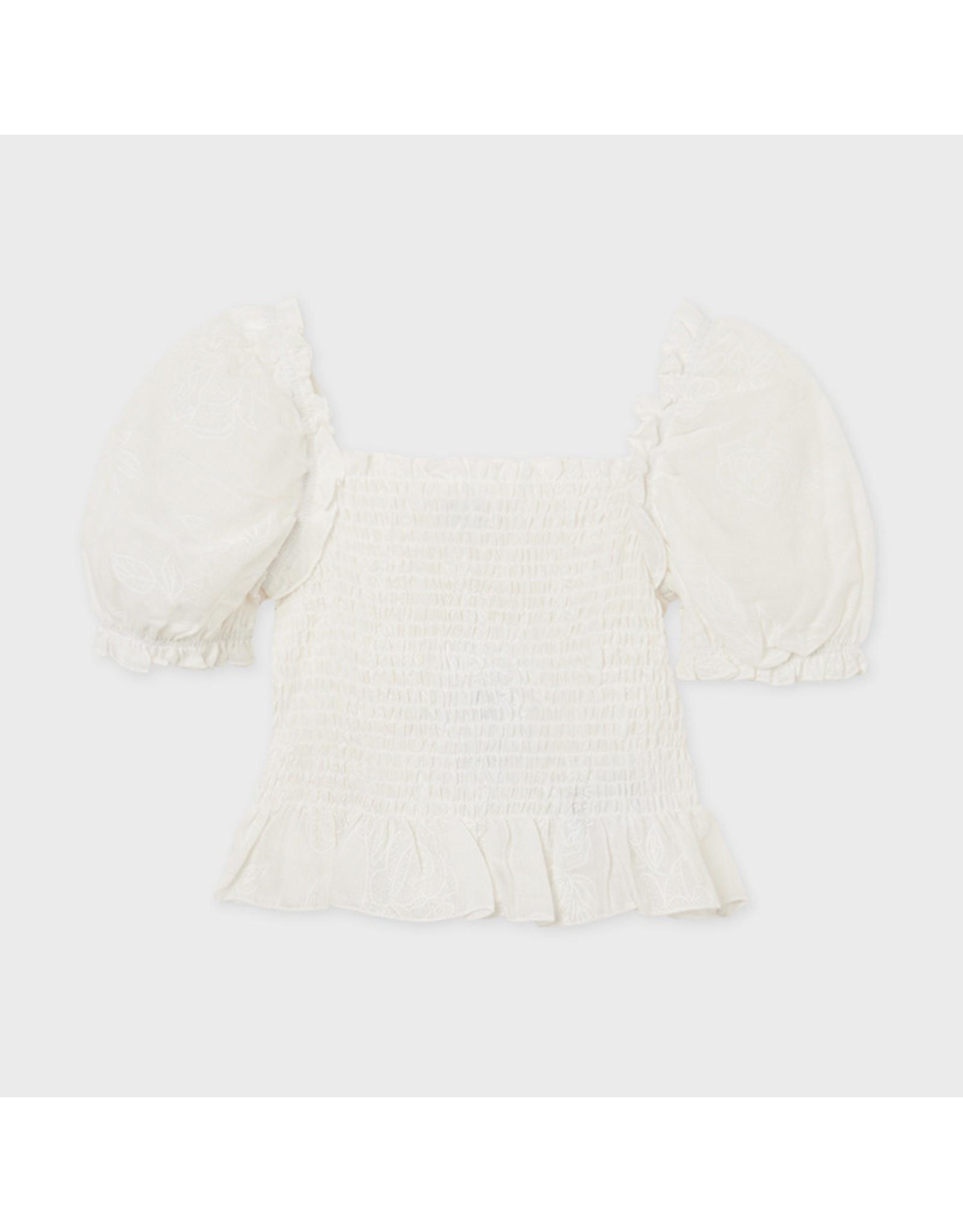 Mayoral blouse  Natural