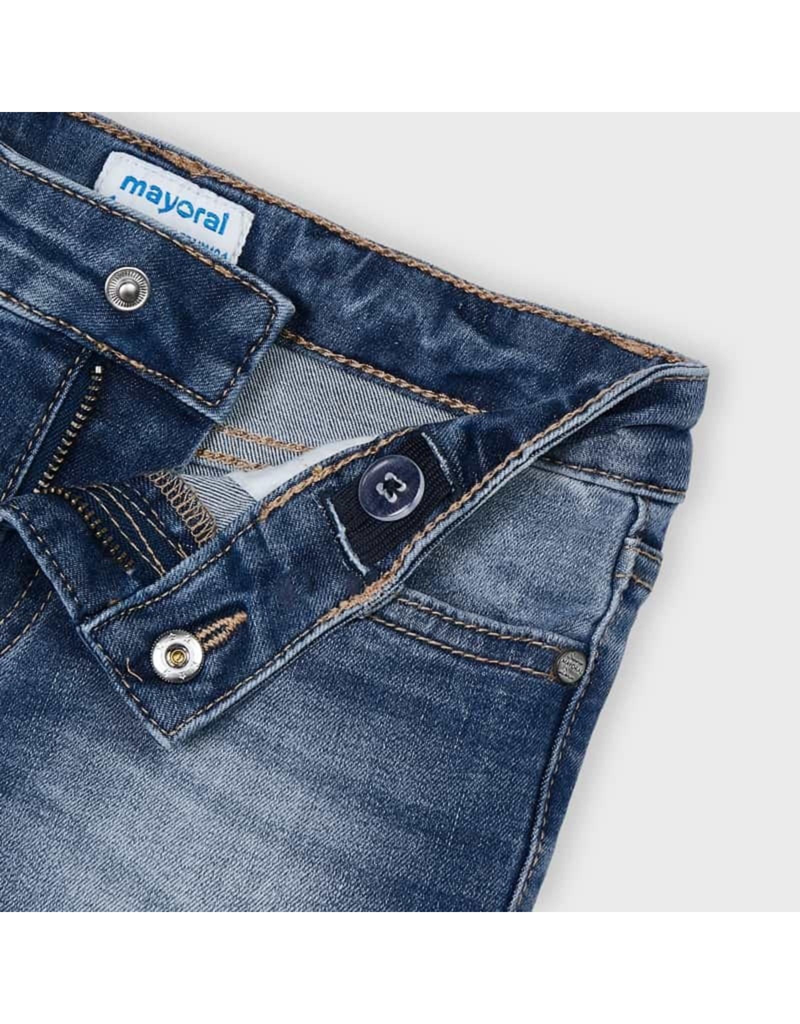 Mayoral Basic denim shorts  Medium
