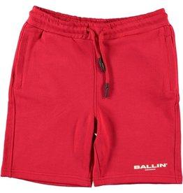 Ballin Amsterdam Sweatshort Red