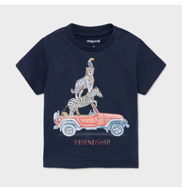 "Mayoral s/s t-shirt ""friendship""  Nautical"
