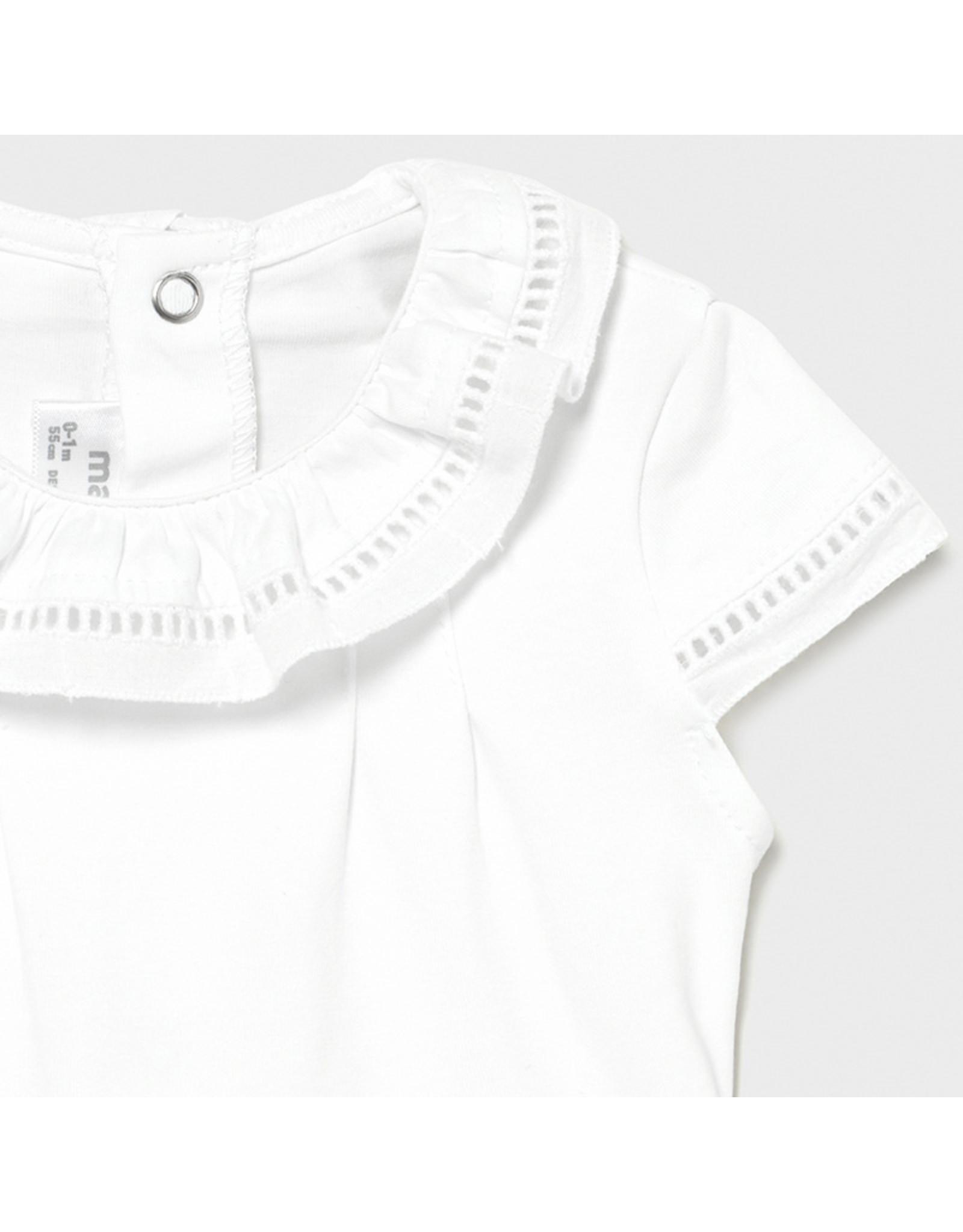 Mayoral Bodysuit White