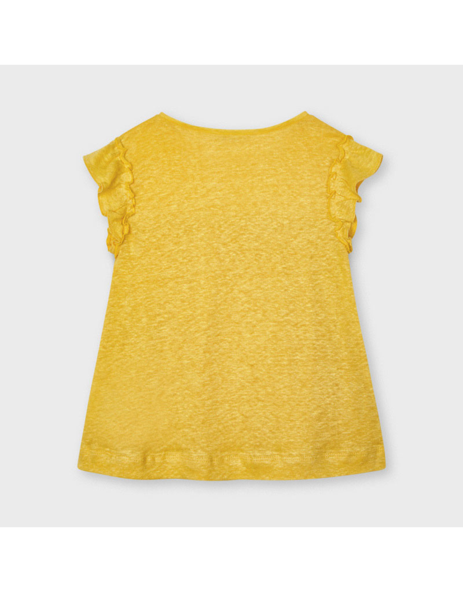 Mayoral linen s/s t-shirt  Mustard