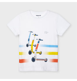 Mayoral s/s skater t-shirt  White
