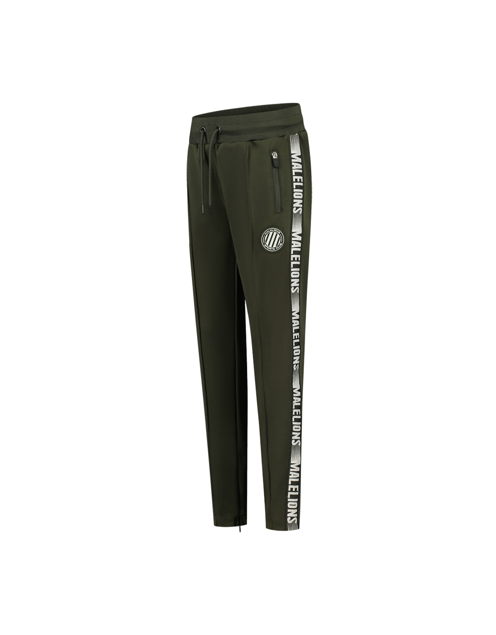 Malelions Junior Warming Up Trackpants Army - Off-white