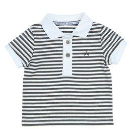 Gymp polo - breton - baby&toddler b kaki/wit