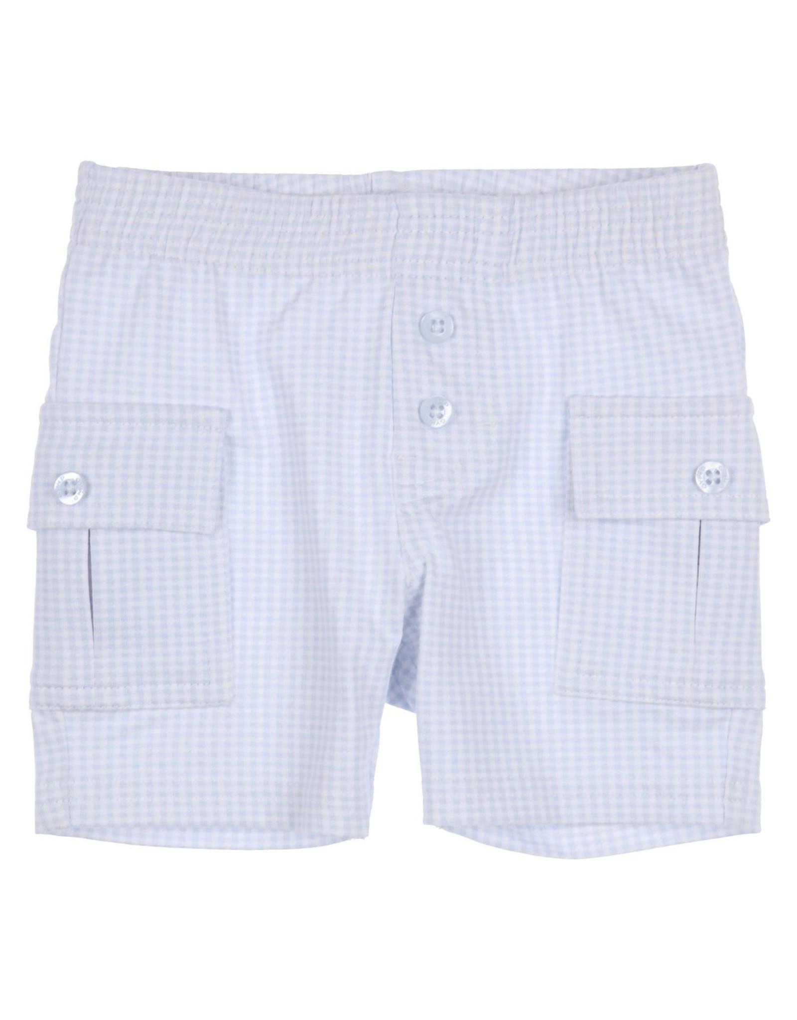 Gymp shorts - vidrio - baby&toddler lichtblauw/wit