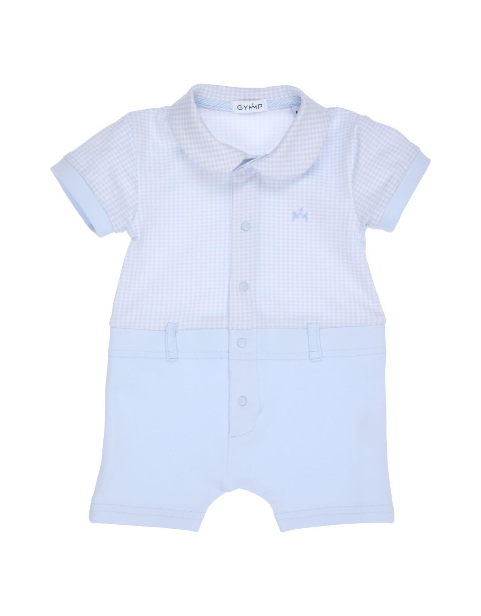 Gymp babypakje - playsuit - vidrio  lichtblauw
