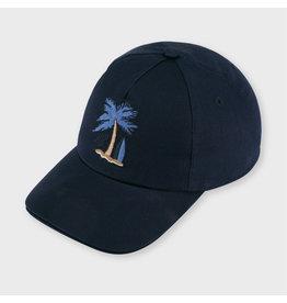 Mayoral palm tree bonnet Navy