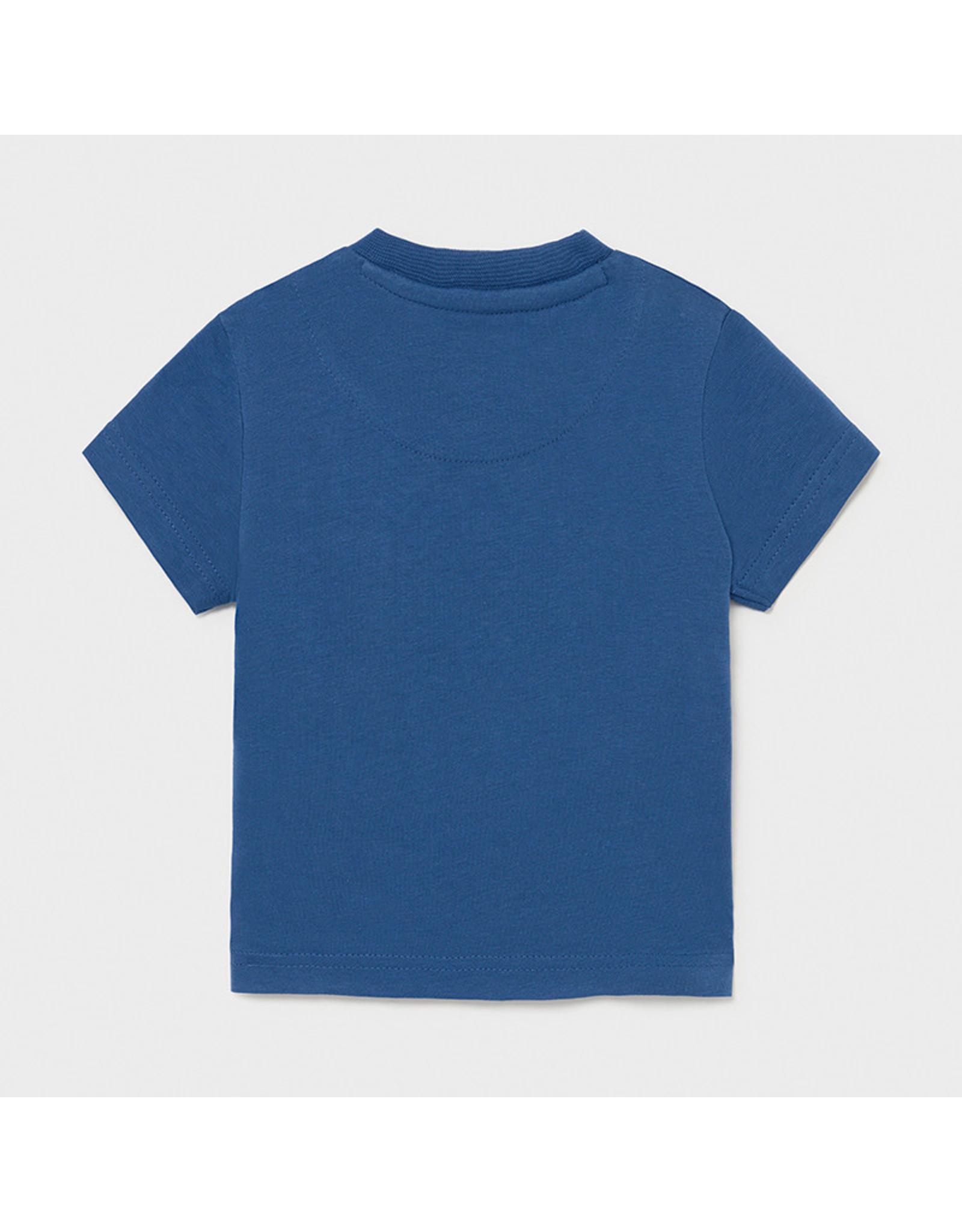 "Mayoral s/s t-shirt ""play"" ""zebra"" Overseas"