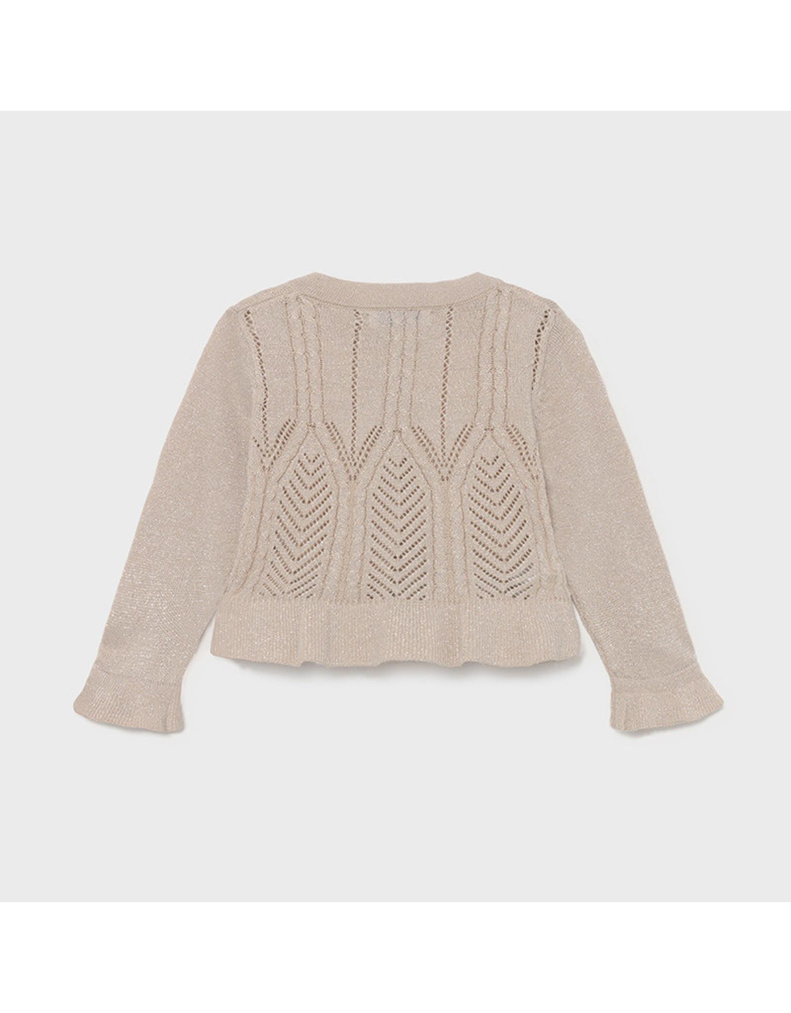 Mayoral Knitting cardigan  Beige Lure