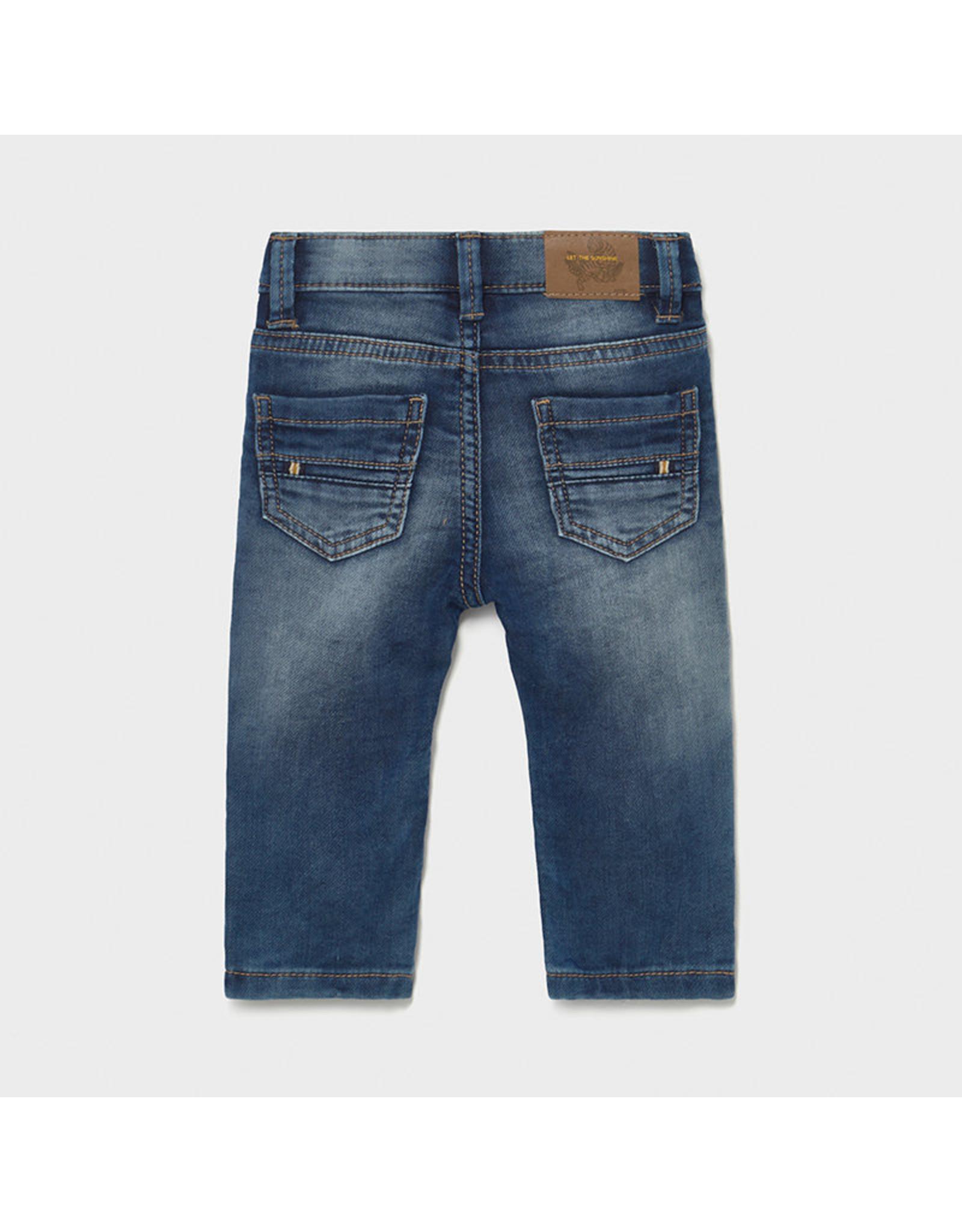 Mayoral Soft denim jeans Medium