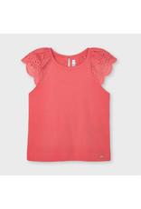 Mayoral sleeveless t-shirt  Coral
