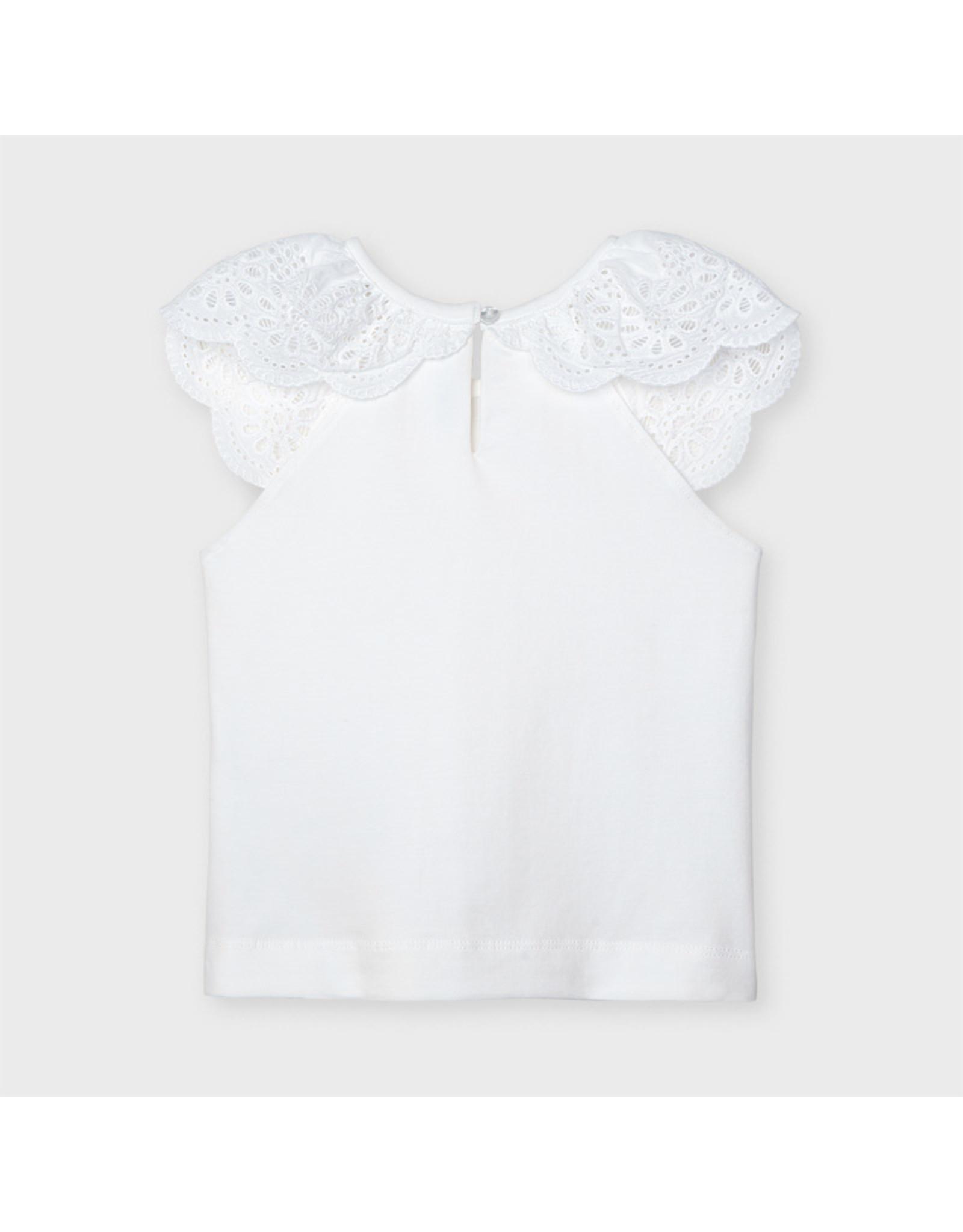 Mayoral sleeveless t-shirt  White