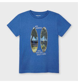 Mayoral Lenticular t-shirt s/s Waves